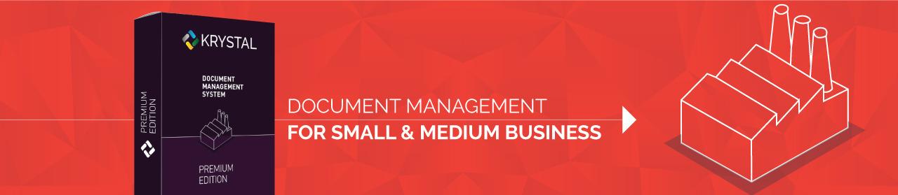 Premium Edition Document Management for Small & Medium Business