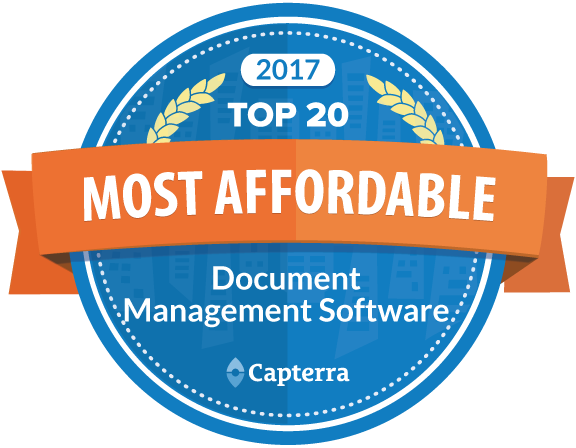 The MOST Affordable Document Management System